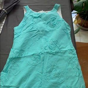 Gorgeous aqua Florence Eiseman size 12 dress